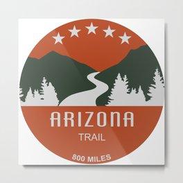 Arizona Trail Metal Print
