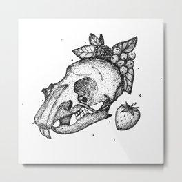 Mouse Anatomy Metal Print