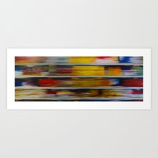 Cereal Aisle Art Print