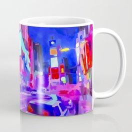 Pop Art Times Square Coffee Mug
