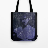 leather Tote Bags featuring Leather by Azure Cricket