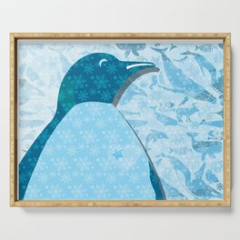 Penguin: Love Serving Tray