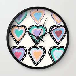 Love Has Many Colors Wall Clock