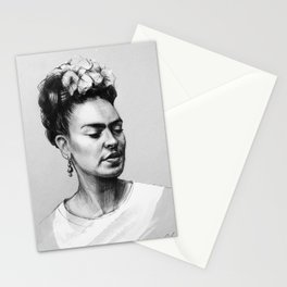 Portrait of Frida Kahlo Stationery Cards