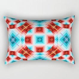 Op Art Tartan Rectangular Pillow