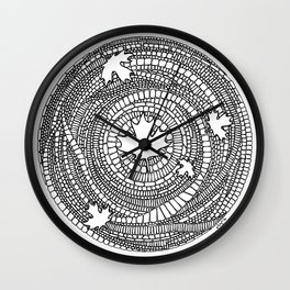 Canadian Maple Wall Clock