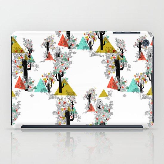 Tree Triangles iPad Case