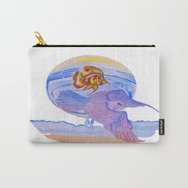 Dove & Fish Carry-All Pouch