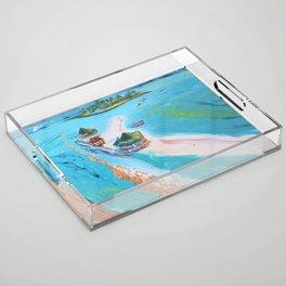 El Acuario  Acrylic Tray