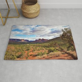 Sedona Landscape by Reay of Light Photography Rug