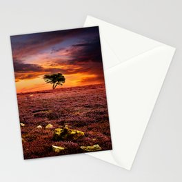 Egton Moor Sunset Stationery Cards