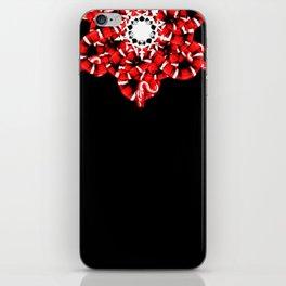 RED SNAKE iPhone Skin
