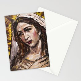 Adoration of Mary Stationery Cards
