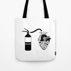 Good Heart, Bad Temper Tote Bag