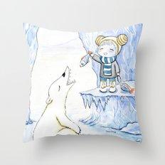 Taming 2 Throw Pillow