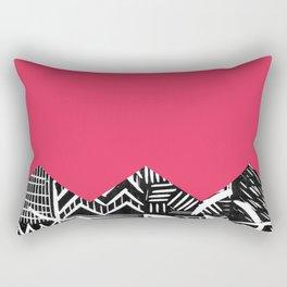 Rose lino bright Rectangular Pillow