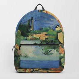 L'Estaque – Paul Cezanne Backpack
