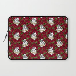 Heart and Roses Laptop Sleeve