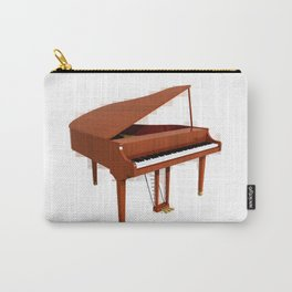 Grand Piano with Wood Finish Carry-All Pouch