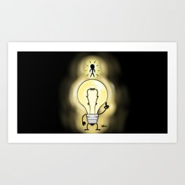 new way of thinking Art Print