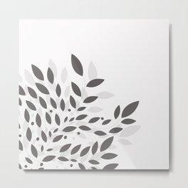 armonia gris Metal Print