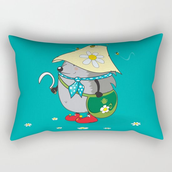 forest druid Rectangular Pillow