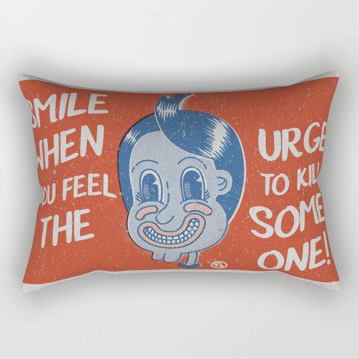 Hater Vintage Kid Rectangular Pillow