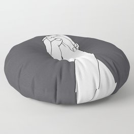 Never Let Me Go III Floor Pillow
