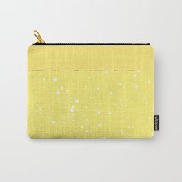XVI - Yellow Carry-All Pouch