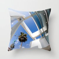 architecture Throw Pillows featuring Architecture by GF Fine Art Photography