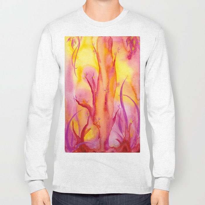 ABSTRACT - Magic Forest Long Sleeve T-shirt