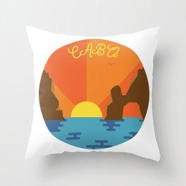 Cabo Sunset Throw Pillow