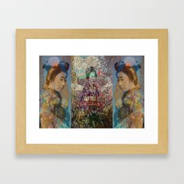 Once Upon A Time in Tokyo II Framed Art Print
