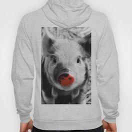 BW splash sweet piglet Hoody