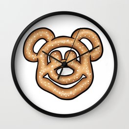 Mickey Mouse Pretzel Wall Clock