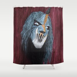 Y So Serious? Shower Curtain