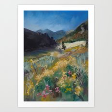 #9-Montana Mountain Meadow Art Print