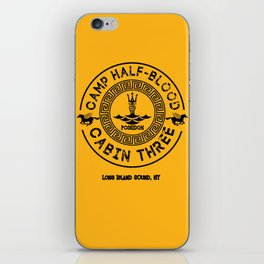 Percy Jackson - Camp Half-Blood - Cabin Three - Poseidon iPhone Skin