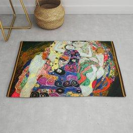 Art Nouveau Ladies - Gustav Klimt Rug