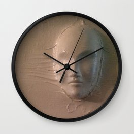 White Wall Face Wall Clock