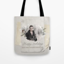 OUAT HAPPY HOLIDAYS // Captain Hook Tote Bag