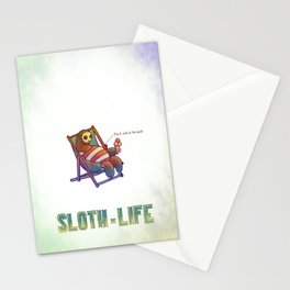 SLOTH LIFE fig. 6. Stationery Cards