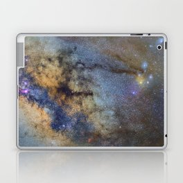 The Milky Way and constellations Scorpius, Sagittarius and the super big red star Antares. Laptop & iPad Skin