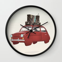 The Journey Begins Wall Clock