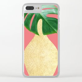 Tropical plants XIV Clear iPhone Case