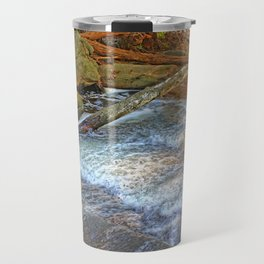 Rock, Wood, Waters Travel Mug
