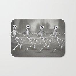 Dancing skeletons II Bath Mat