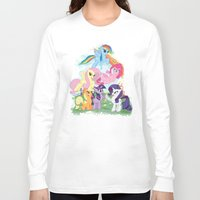 my little pony Long Sleeve T-shirts featuring My Little pony by Paul Abstruse