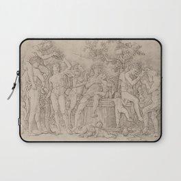 Andrea Mantegna - Bacchanal with a Wine Vat Laptop Sleeve