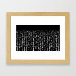 capillary II Framed Art Print